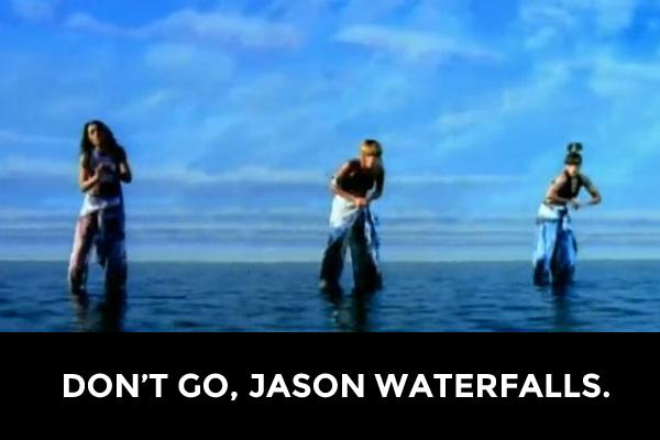 Cold Co-Adjacent Waterfalls TLC Water Falls Misheard Lyrics Mouse Pad Funny Dad Joke gifts for him