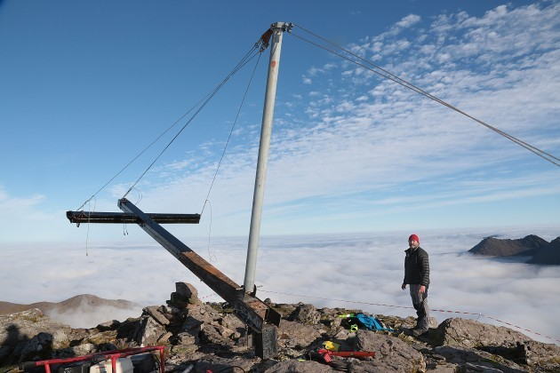 Carrauntoohil Cross Reinstated1