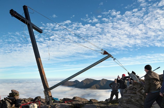 Carrauntoohil Cross Reinstated3