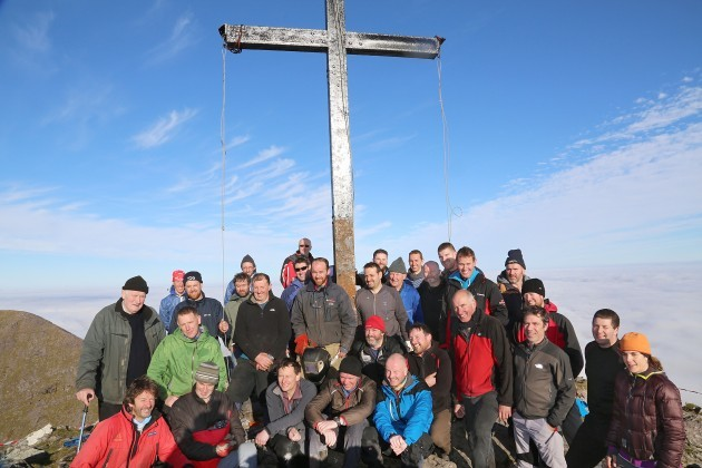 Carrauntoohil Cross Reinstated2