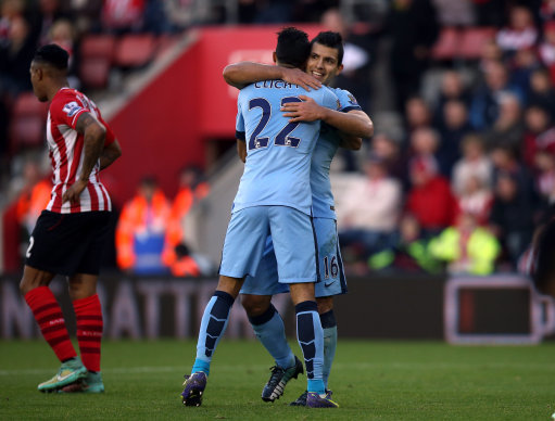 Soccer - Barclays Premier League - Southampton v Manchester City - St Mary's Stadium