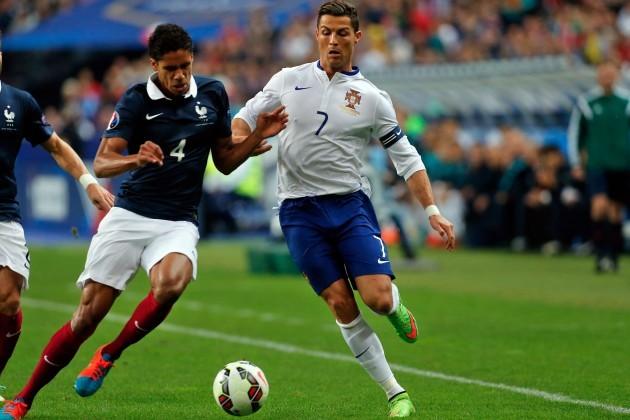 France Portugal Soccer