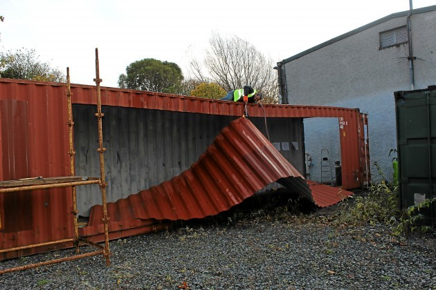 House Built With Shipping Containers In Guadalajara Jalisco: The Shipping Container House That Was Built In Three Days