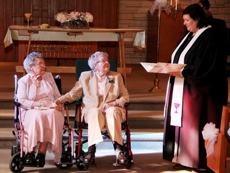 Newlyweds in Their 90s