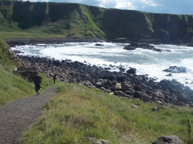 Runner Up in the Youth Category of the 2014 National Heritage Week Photo Competition was Iphshita Ray from Antrim with her image of the Giant's Causeway