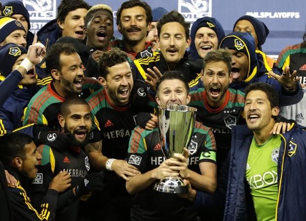 MLS Galaxy Sounders Soccer