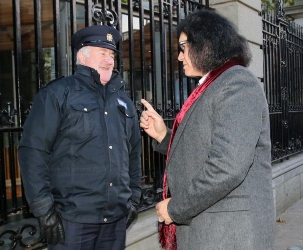 Gene Simmons. Pictured (Right) Gene Si