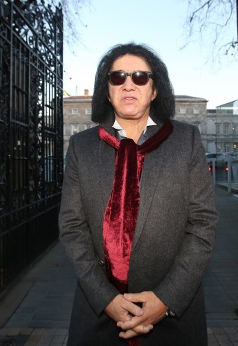 Gene Simmons. Pictured Gene Simmons kn
