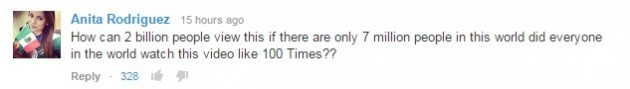 gangnam style youtube comment