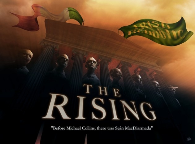the rising test poster