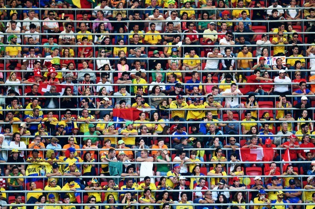 Soccer - FIFA World Cup 2014 - Group E - Switzerland v Ecuador - Estadio Nacional