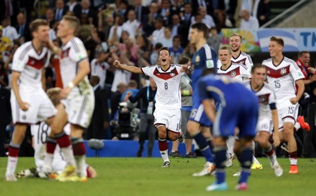 Brazil Soccer WCup Germany Argentina