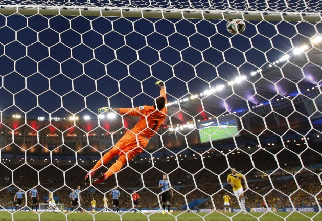 Brazil Soccer 2014 WCup Colombia Uruguay