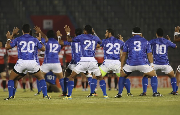 Japan Challenge Cup Rugby Samoa