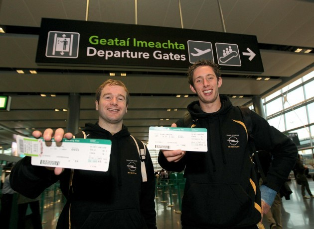 JJ Delaney and Michael Fennelly 30/11/2011