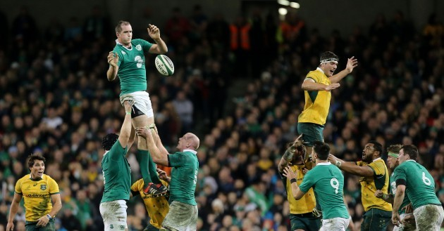 Devin Toner and Rob Simmons