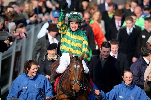 Barry Geraghty onboard More of That celebrates winning