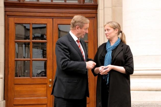 22/10/2014 Taoiseach Enda Kenny meets with Mairia