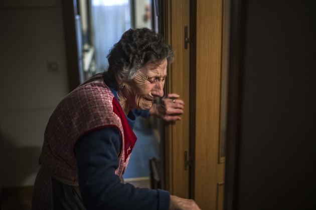 Spain Elderly Eviction