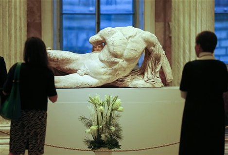 Russia Contested Sculptures