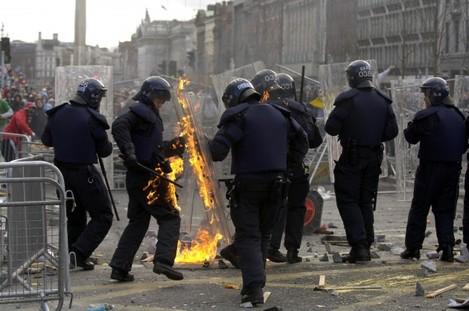 Riots in Dublin 2006