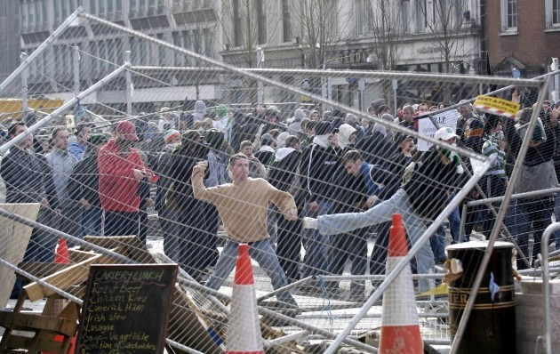 Riots In Dublin 2006