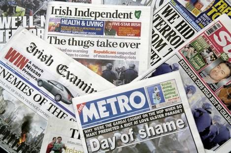 Dublin Riots Love Ulster Parades 2006