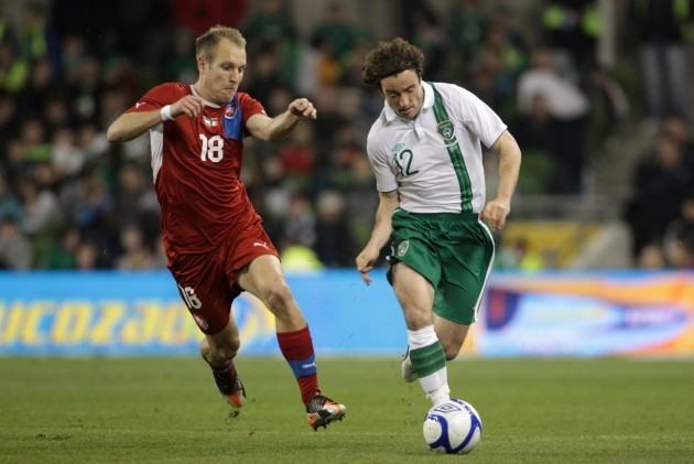 Soccer - International Friendly - Republic of Ireland v Czech Republic - Aviva Stadium