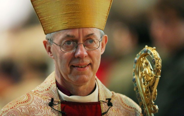 Welby shock at Britain's hunger-stricken poor