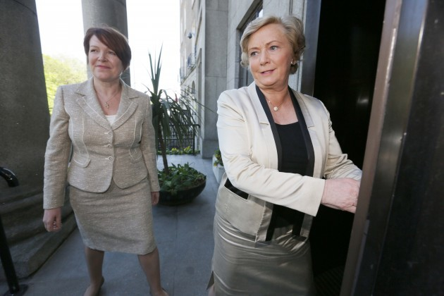 File Photo Frances Fitzgerald Minister for Justice & Equality, has today announced that the Government has decided to appoint Ms Noirin OSullivan as Garda Commissioner.
