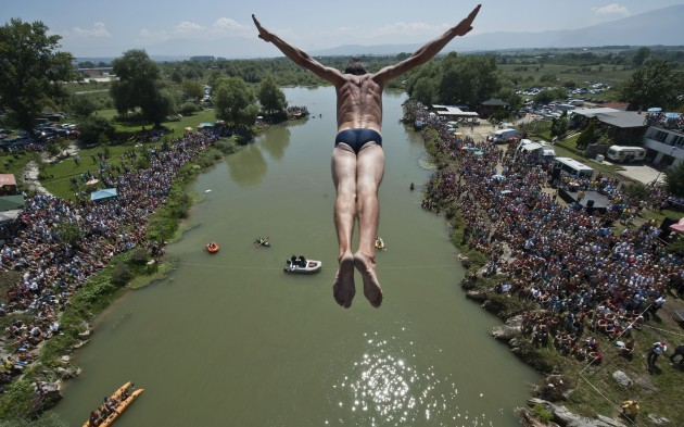 Kosovo High Diving