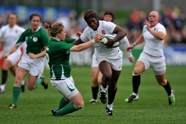 Rugby Union - IRB Women's World Cup - Day One - Pool B - England v Ireland - Surrey Sports Park