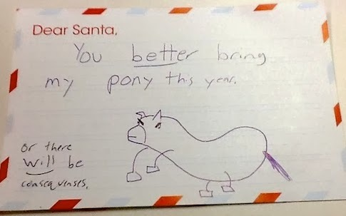 santa pony or else