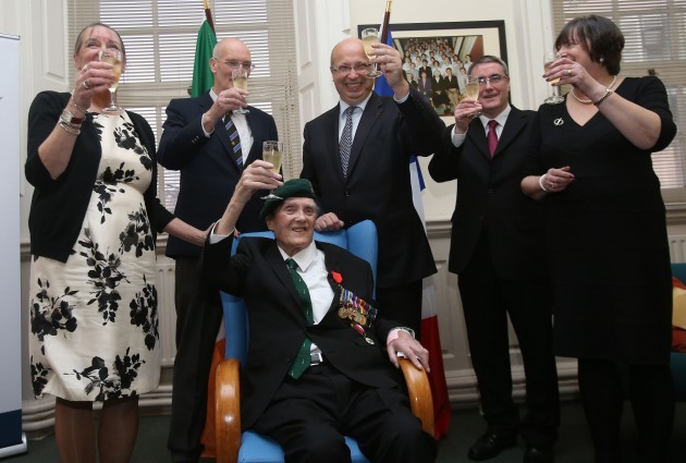 Veteran receives Legion of Honour