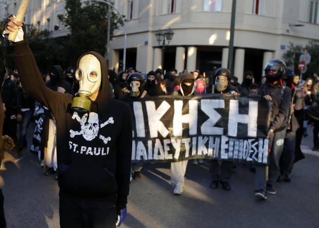 Greece Killing Anniversary