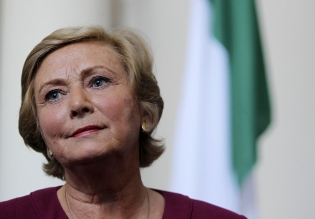 New Minister for Justice Frances Fitzgerald