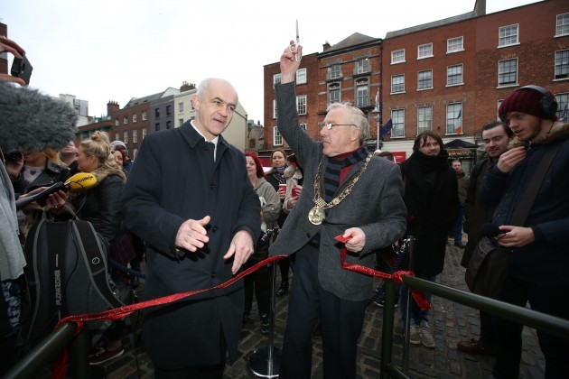 Opening of the IFA Live Animal Crib -