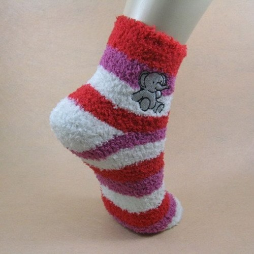 socks-women-fluffy-with-wool-design-and-elephant-image