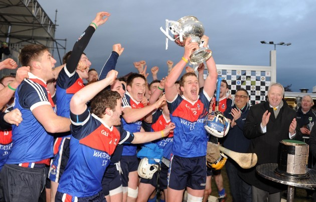 Eoin Murphy celebrates with the trophy