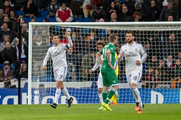 Soccer - UEFA Champions League - Group B - Real Madrid v Ludogorets Razgrad - Santiago Bernabeu