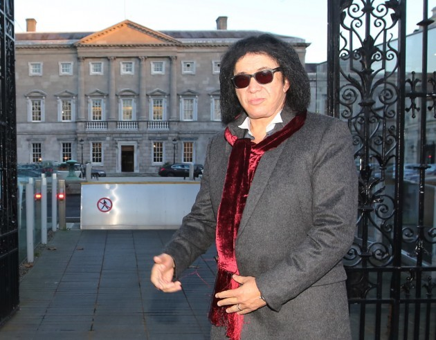 Gene Simmons Rock Stars in Ireland