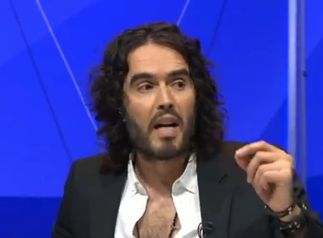 russell brand bbc qt