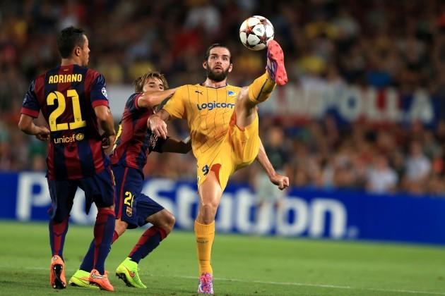 Soccer - UEFA Champions League - Group F - Barcelona v Apoel Nicosia - Camp Nou