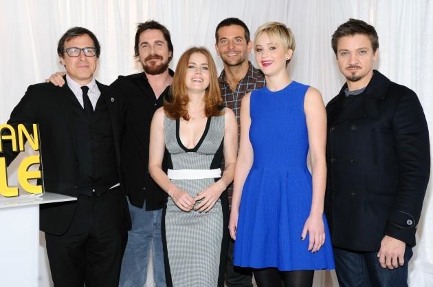 American Hustle Cast Photo Call