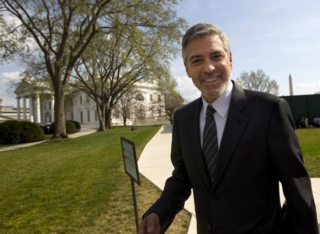 Obama US Sudan Clooney