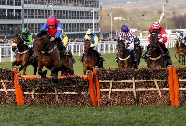 Quevega ridden by Ruby Walsh on the way to victory 11/3/2014