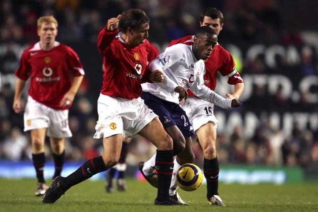 Soccer - FA Barclays Premiership - Manchester United v Tottenham Hotspur