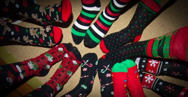 Christmas Socks for 7