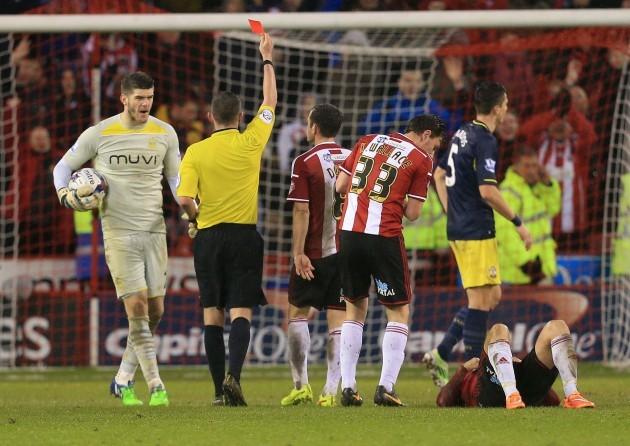 Soccer - Capital One Cup - Quarter Final - Sheffield United v Southampton - Bramall Lane