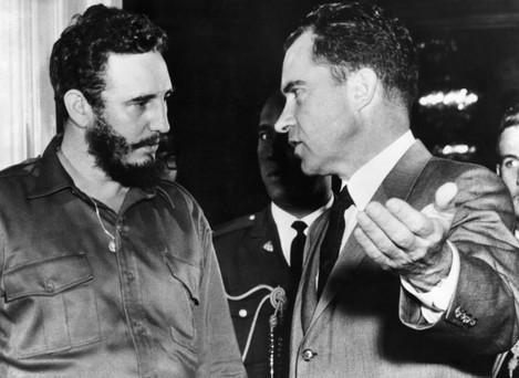 Politics - Castro & Nixon